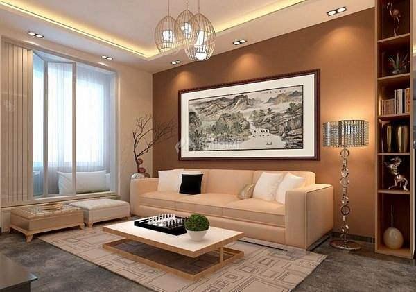 客厅装饰画:客厅挂画的高度应该在多少合适?客厅挂画尺寸如何选择?